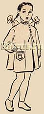 Платье для детей дошкольного возраста (основа)