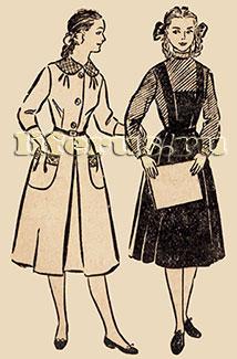 Платье для девочки школьного возраста