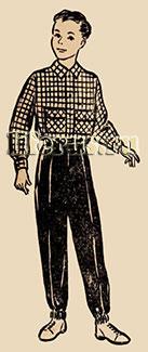 Верхняя рубашка для мальчика